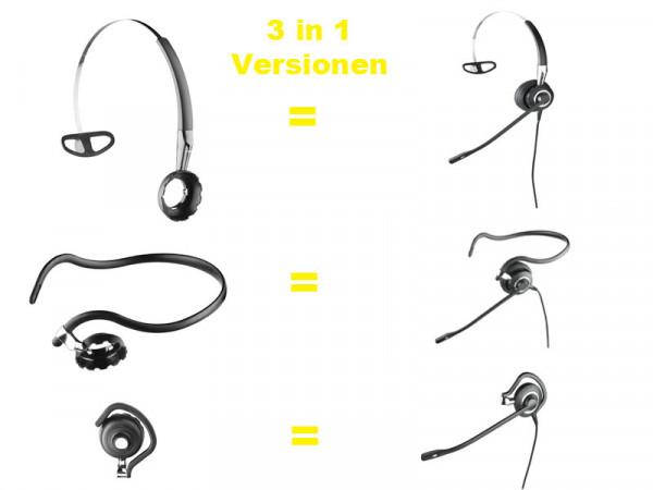 Jabra BIZ 2400 II Headset Duo Wideband *Unify Openstage only*