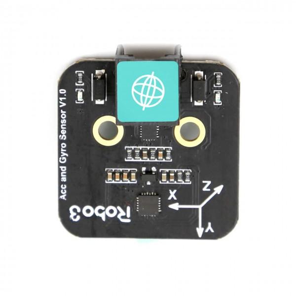 Robo3 Accelerometer and Gyro Sensor