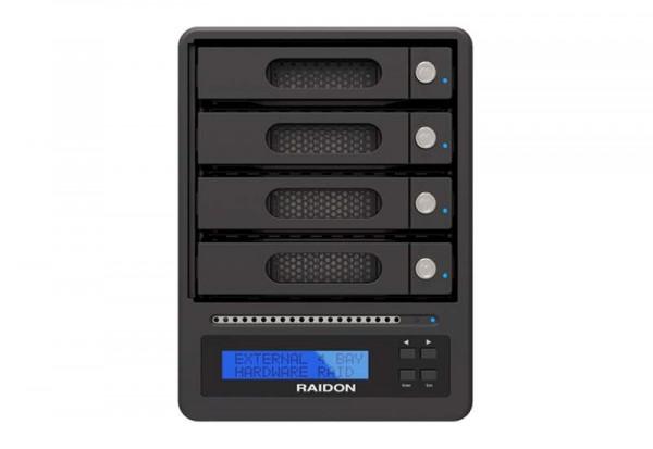 "Raidon RAID Subsystem, SATA 4x2,5/3,5""->USB 3.0 + eSATA host, extern, GR5640-SB3,"