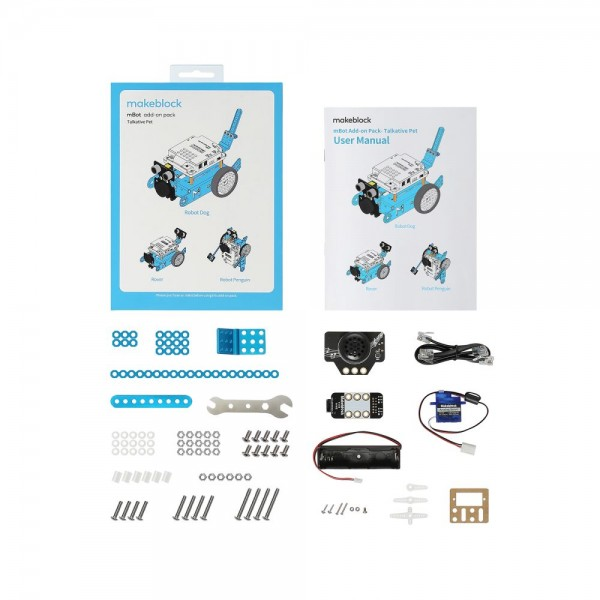 """Makeblock MINT Roboter Erweiterung 3-in-1 """"Talkative Pet"""" (Add-on Paket)"""