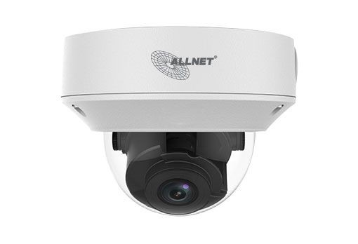 "ALLNET IP Kamera Fix Dome / Outdoor / 5MP / IR / Vandalismus / Low-Light / Motorisiertes Vario-Objektiv / 93° / ""ALL-CAM2495-LVEFN"""