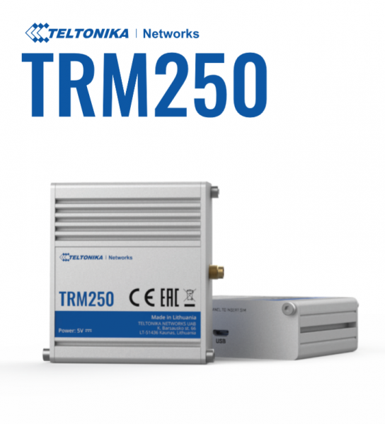 Teltonika · Modem · TRM250 · 4G-LTE