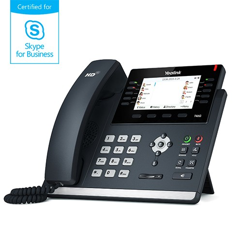 Yealink MSFT - Skype4Business T46S IP-Telefon Business PoE