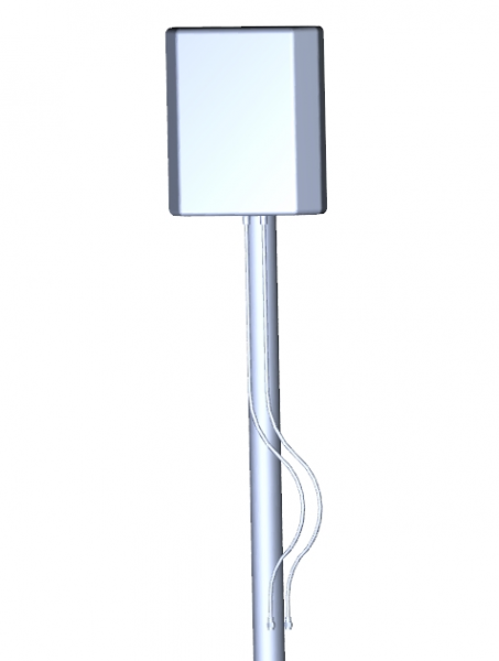 ALLNET ALL19103 / GSM-Antenne 4dbi MIMO Flatpatch LTE Antenne