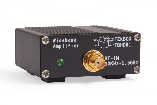Tekbox TBHDR1 / 24 dB HF-Verstärker von 30 kHz..1,5 GHz