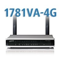 LANCOM 1781VA-4G, VDSL2/ADSL2+-Router/Modem, (All-IP, EU, over ISDN), LTE