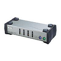 Aten KVM-Switch 4-fach VGA/Maus/Tastatu