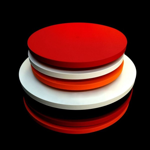 Synergy 21 LED Rundleuchte transparent zub. 12W Abdeckung rot