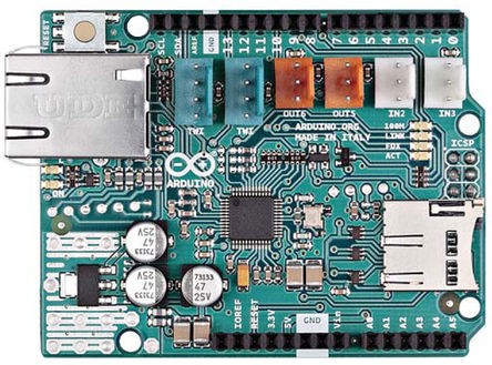 Arduino® ETHERNET shield 2 WITH PoE - RETAIL