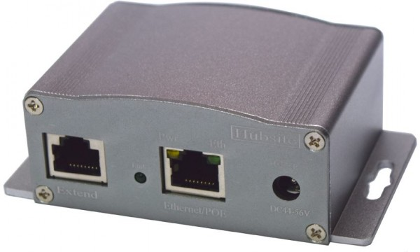 Wantec 2wIP 2-Draht RJ45 Adapter Sender mit PoE 200 Mbit