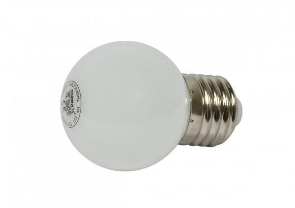 Synergy 21 LED Retrofit E27 Tropfenlampe G45 cw 1 Watt für Lichterkette