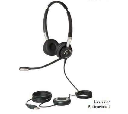 Jabra BIZ 2400 II Headset Duo USB / Bluetooth