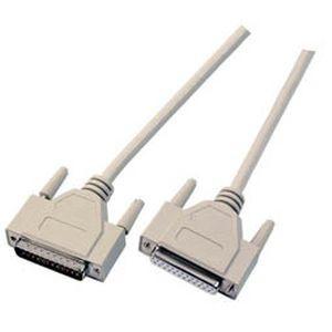 Kabel Seriell DB25pol=>DB25pol. ST/ST 5m