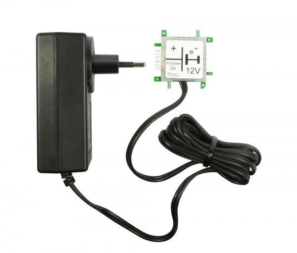 ALLNET Brick'R'knowledge Netzteiladapter 12V 3A Sicherung und Masse