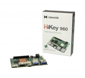LeMaker HiKey 960™ 3GB, Octa Core 4xARM® Cortex® A73 + 4xA53 64-Bit-CPU, Mali™ G71 MP8 3D GPU, 96board