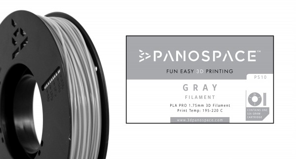 Panospace - Filament PLA grey grau 1,75mm