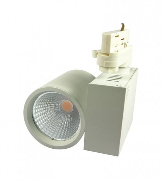 Synergy 21 LED Track-Serie für Stromschiene VLA-Serie 40W, 30°, ww, CRI>90