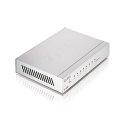 Zyxel Switch GS-108BV3, 8x Gigabit Ports, Desktop, Metallgehäuse
