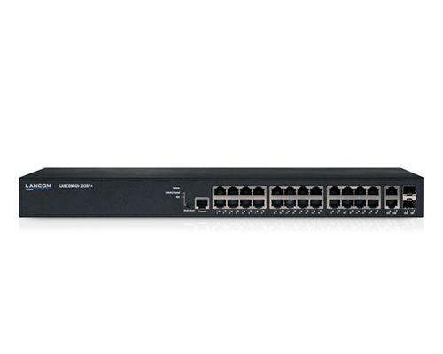 LANCOM Switch, 1000Mbit, 24xTP+2xTP/SFP-Slot, POE, GS-2326P+,