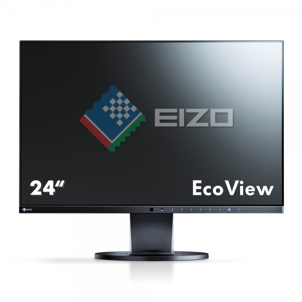 "Eizo FlexScan EcoView UltraSlim EV2450-BK Monitor schwarz 24""Zoll, IPS-Panel"