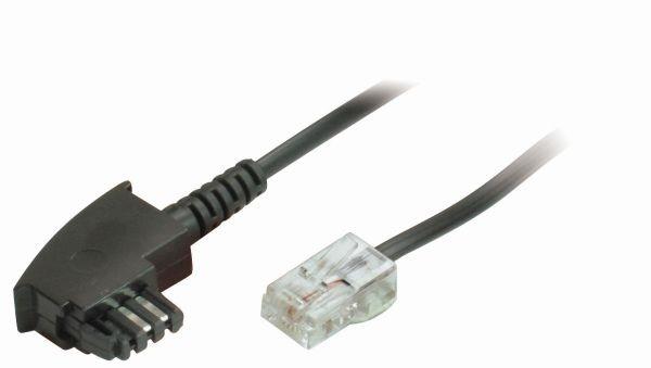 Kabel TK TAE 0.5m, TAE-F/RJ45;