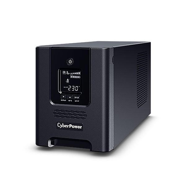 CyberPower USV, PR Tower-Serie, 3000VA/2700W, Line-Interactive, reiner Sinus, LCD, USB/RS232, ext.Runtime,