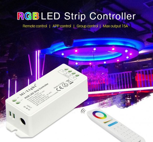 Synergy 21 LED Controller RGB DC12/24V 4 Zonen *Milight/Miboxer*