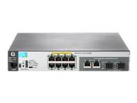 HP Switch 100Mbit, 8xTP, 1000Mbit, 2xTP/SFP-Slot, 2530-8-PoE+ Internal PS,