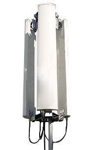 ALLNET Antenne 2,4 GHz 14dBi Sectorial 360° (3x120°) outdoo