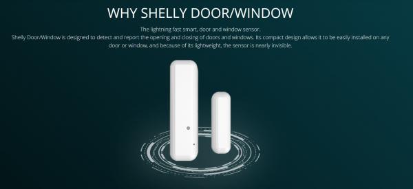 Shelly · Sensor · Door/Window 2