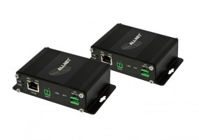 ALLNET Medien Konverter Bridge/Reciever & Transmitter Power über Zweidraht-Bundle ALL-MC301
