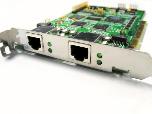 SIRRIX PRI 2 Port PCI S2M Karte Quad PRI card Echo Cancella
