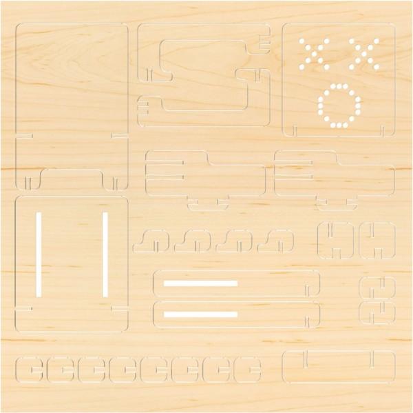 Airwood Holz Gehäuse der Fernbedienung / Remote Controller Wood Shell