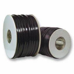 Kabel TK Flach 4 pol. 100m SCHWARZ, Flex, Flachkabel, Spule, Synergy 21,