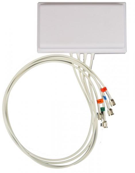 ALLNET Antenne 2,4/5 GHz 6dBi 4x4MIMO 105°/125° 91cm R-TNC