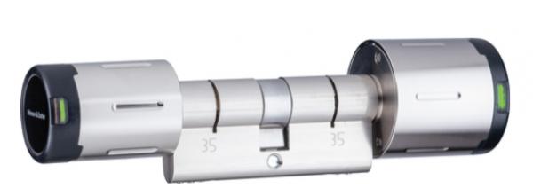 U&Z Private CX2182 Doppelknaufzylinder / außen nur lesend / 60/30 IP55