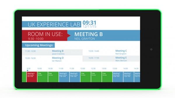 ALLNET Meetingraum RGB LED Tablet 10 Zoll RK3288 Android 8.1/10 und NFC