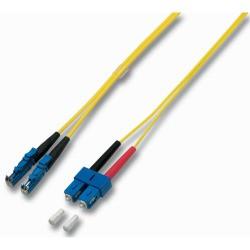 LWL-2-Faser-Patchk. 1.0mtr.SC-E2000 Gerade-S, 9/125um,
