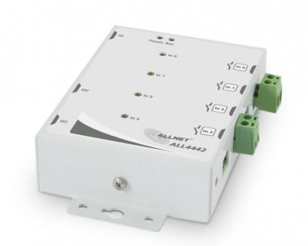 ALLNET MSR IO ALL4442 / 4-fach Kontakteingang mit Impulsverl.
