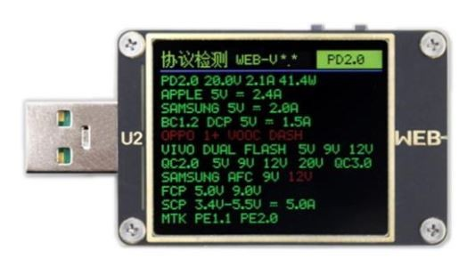 Synergy 21 U2 eco - USB Tester for QC4.0+ PD3.0 high power DC Meter 4~24V 5A