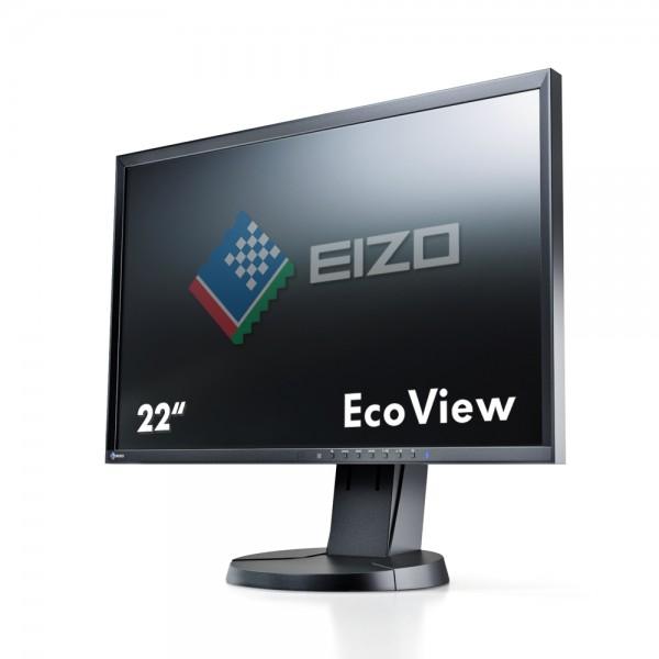 """Eizo FlexScan EcoView EV2216WFS3-BK Monitor schwarz 22""""Zoll, TN-Panel"""