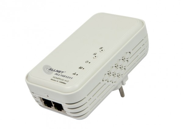 ALLNET Schweiz Powerline 1200Mbit HomePlugV2 MIMO mit WiFI AC ALL1681211