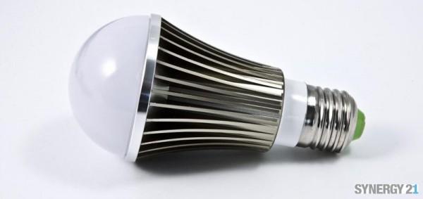 Synergy 21 LED Retrofit E27 Bulb 5*1W blau
