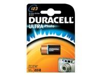 Batterien Photo CR123A (CR17345) *Duracell* Ultra Photo