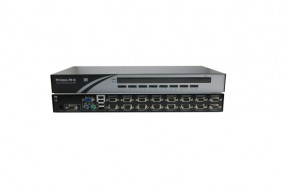 "ALLNET ALLPRIMATU16 / KVM Switch 16 Port PS/2-USB, 19"" Rackmountable Prima TU16"
