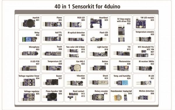 ALLNET 4duino Sensor Kit 40 in 1 SET * NEU*