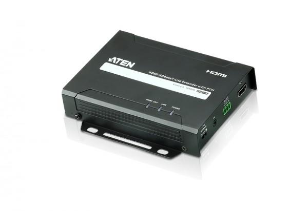 Aten Video-Extender, 40/70mtr. HDMI/RS-232, (4K bei 40 m), mit POH, Empfänger