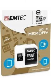 Flash MicroSDHC 8GB *EMTEC* Class10 UHS-I 85mb/s