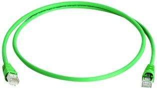 Telegärtner Patchkabel CAT6A, 1.5m, grün, 500MHz, S-STP(S/F