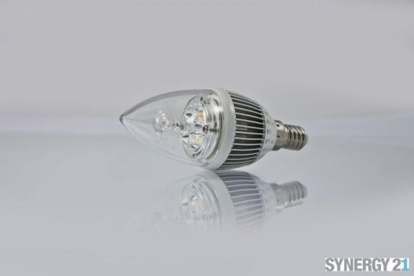 Synergy 21 LED Retrofit E14 Kerze 4x1Watt ww